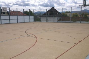 Basketballplatz Allwetterplatz