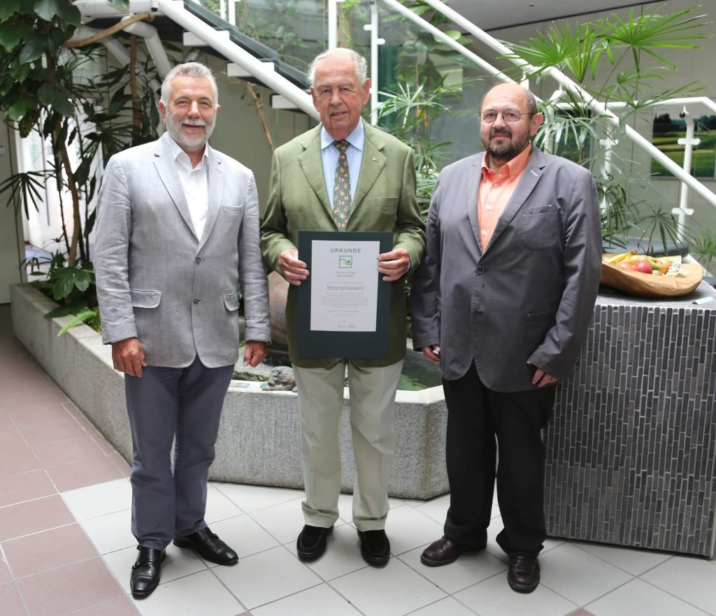Ehrenpräsident Kutter VGL Bayern