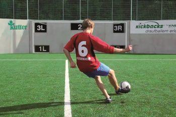 Fußballwand Junge