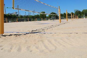 Beachvolleyball Felder