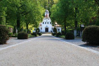 Friedhofsweg mit Stabilizer-Verarbeitung