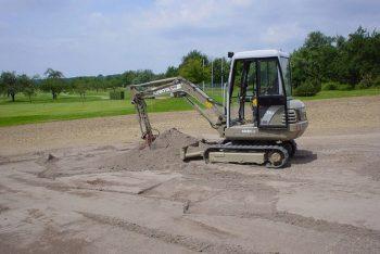 Umbau Golfplatz
