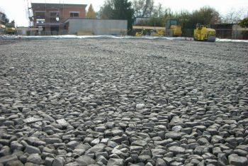 Abgewalzter Ecoglas Boden