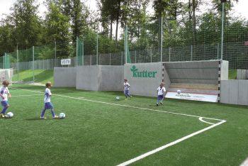 Fußballwand-Kickback Kinder (1)