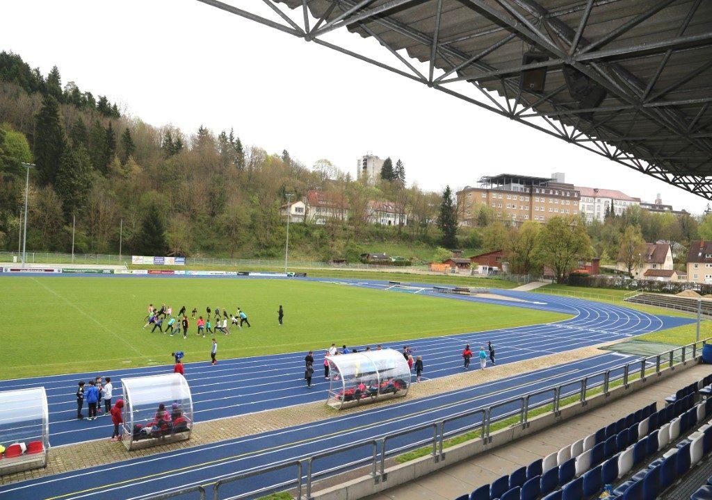 Das Donaustadion in Tuttlingen nach der Komplettsanierung.