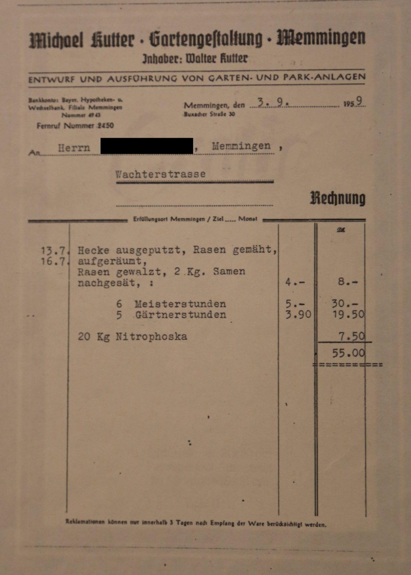 Unsere Chronik Kutter Durch Die Jahre Hermann Kutter