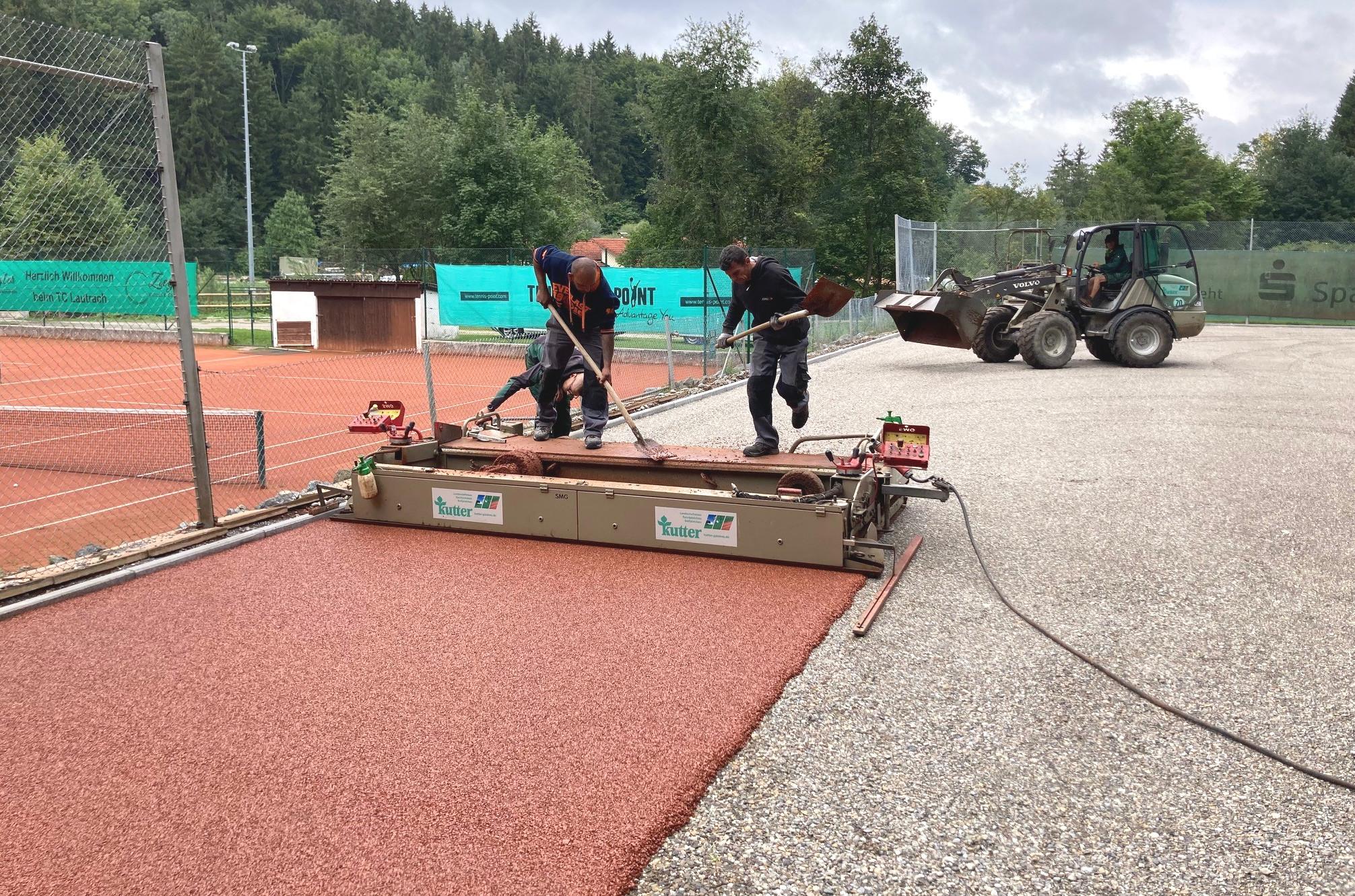 Lautrach Tennisanlagenbau Conipur ProClay 2
